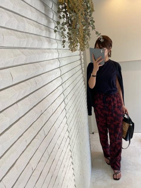 カトレアモチーフの夏パンツ買いました。_1_2