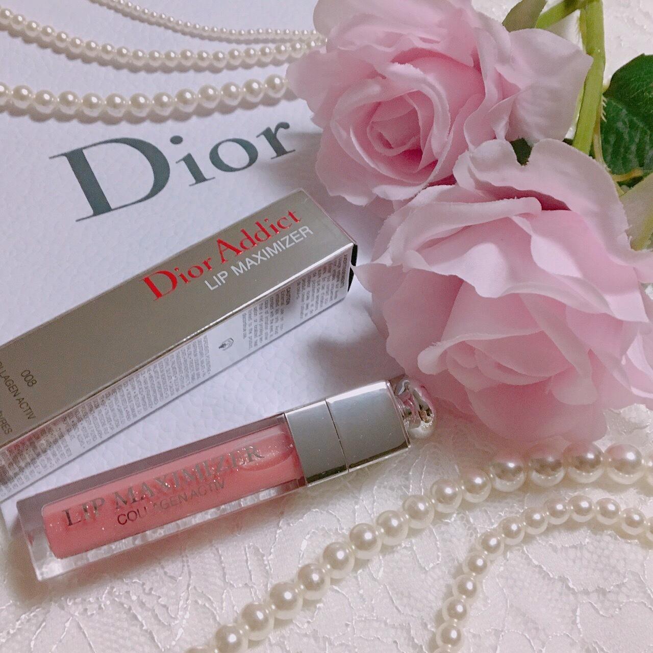 """【 第19回❤︎ 】あっという間にぷるぷるな唇へ!Diorの""""リップマキシマイザー""""*_1_1"""