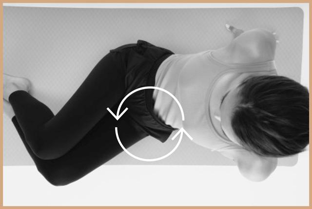 腰の回転はコンパクトでOK