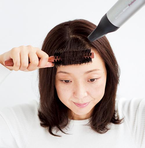 アラフォーの髪悩み「薄毛」問題はスタイリングが強い味方!_3_4