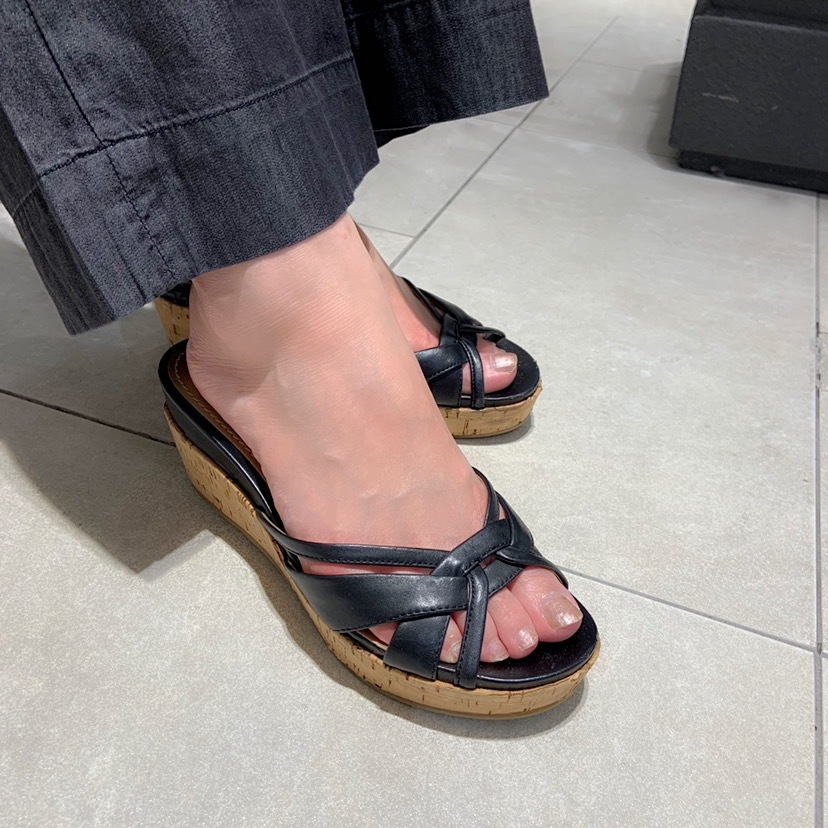 プチプラファッションで、サクッと「夏の黒」_1_3