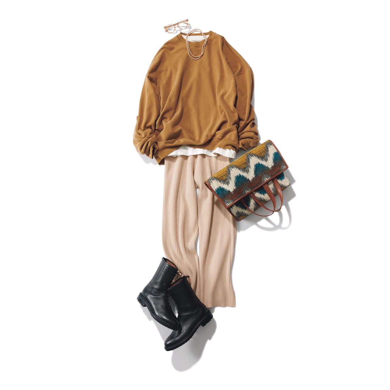 【2021秋のショートブーツ】カジュアル派もきれいめ派も使える! 万能ショートブーツを使った秋コーデまとめ|40代ファッション_1_10