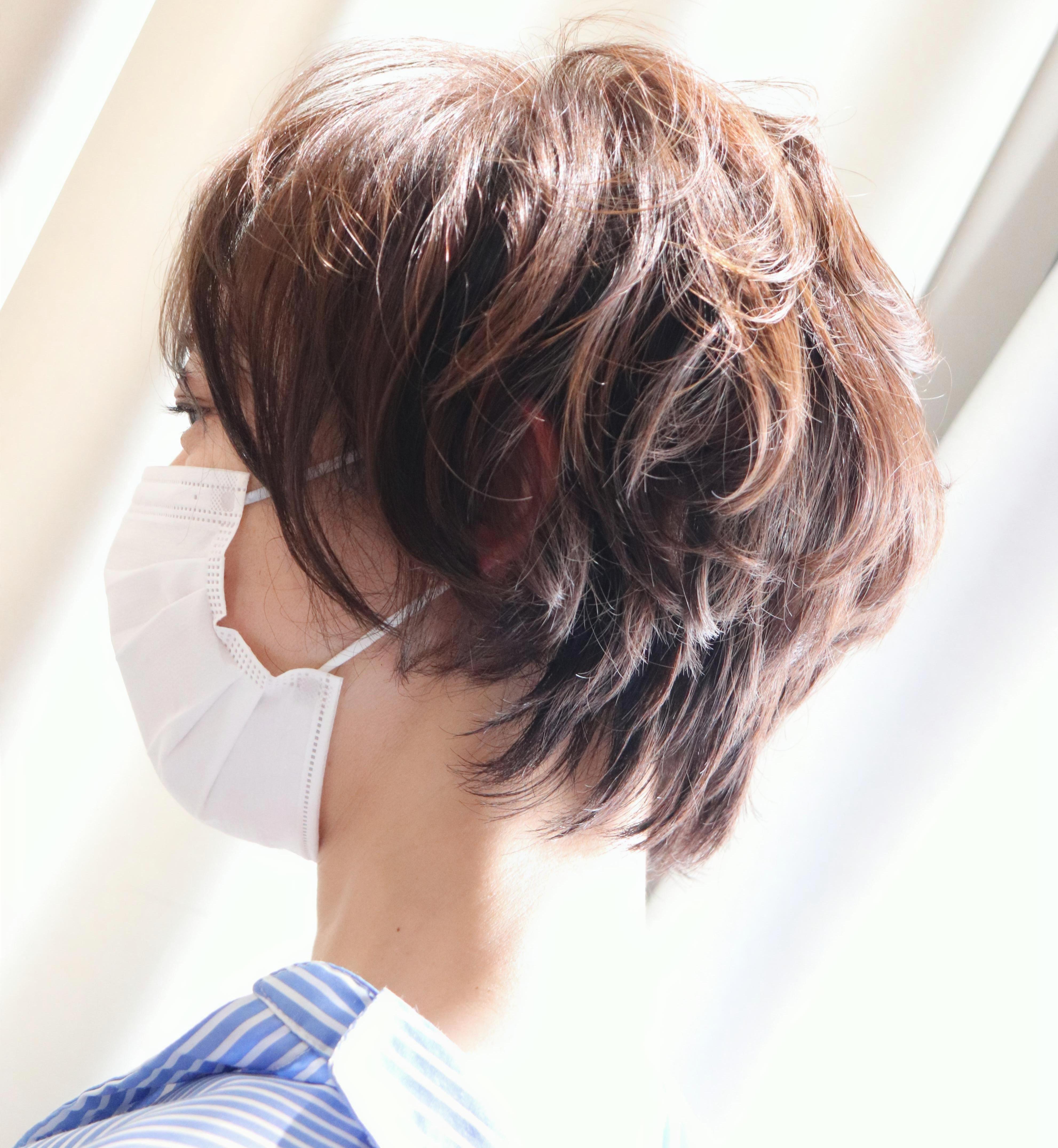 初夏のヘアスタイル