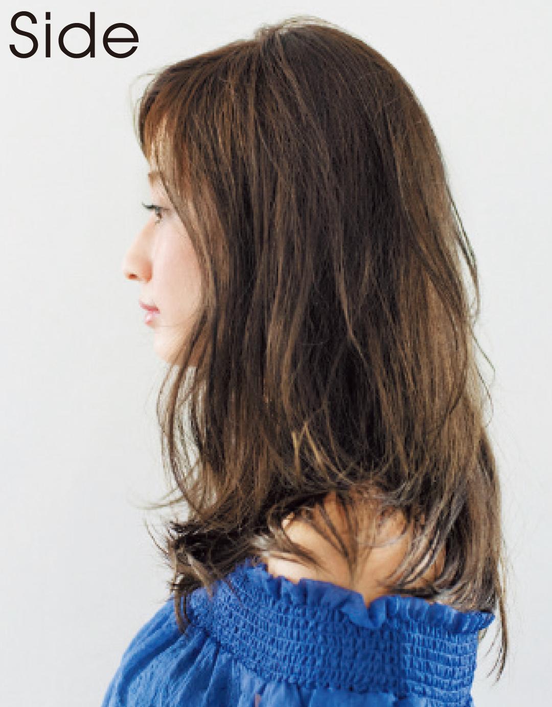 石原さとみさんのヘアスタイル、大人っぽモテ♡ ミディアムになる方法_1_6-1