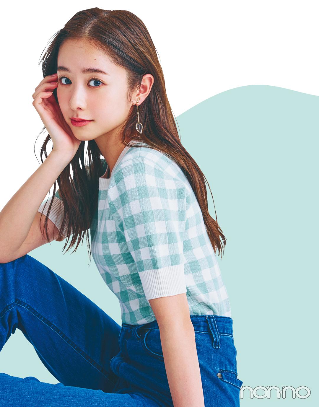 【2021年ファッショントレンド vol.3】甘すぎないギンガムチェックが気分!_1_3