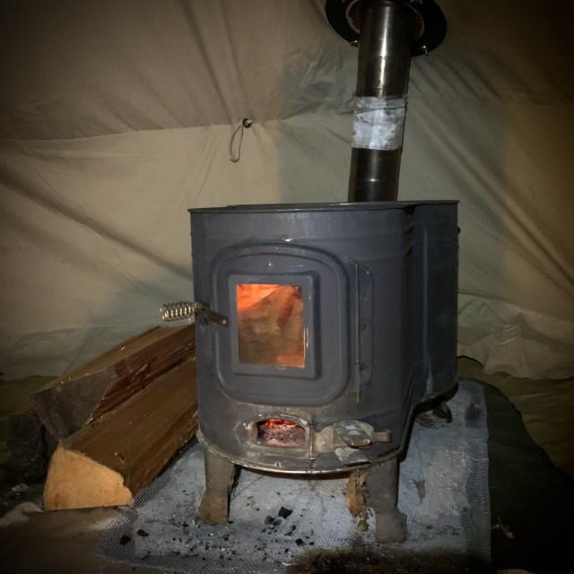 camp ストーブ