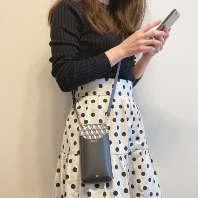 スマホケースだけでお出かけ!ミニマムなのに便利なミニバッグ&最旬スマホケースまとめ|40代ファッション_1_30