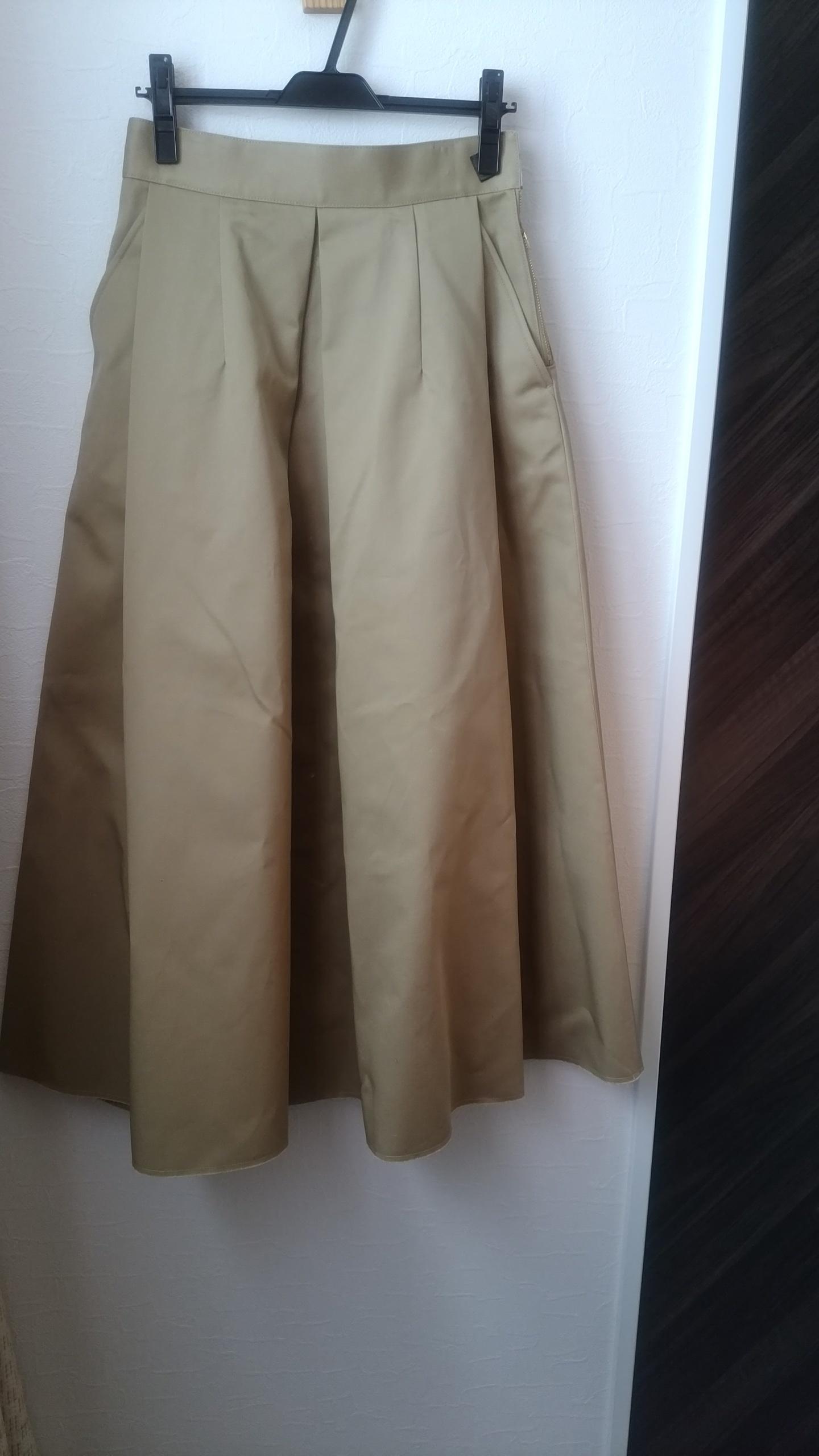 私の春はチノスカートとマウンテンパーカーで☆_1_1