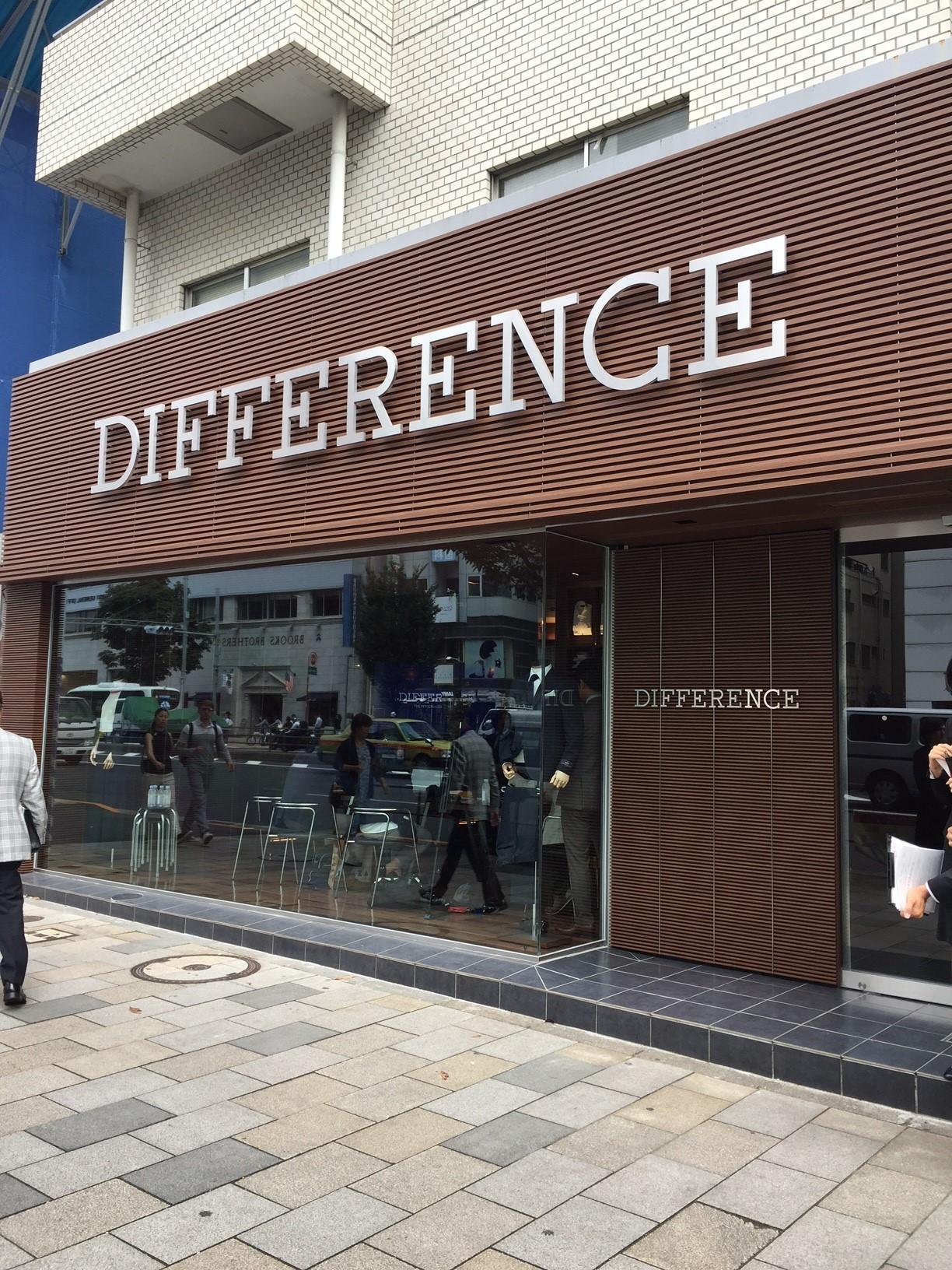 スーツを気軽にセミオーダーできる新ブランド、【DIFFERENCE】が表参道に登場!_1_3