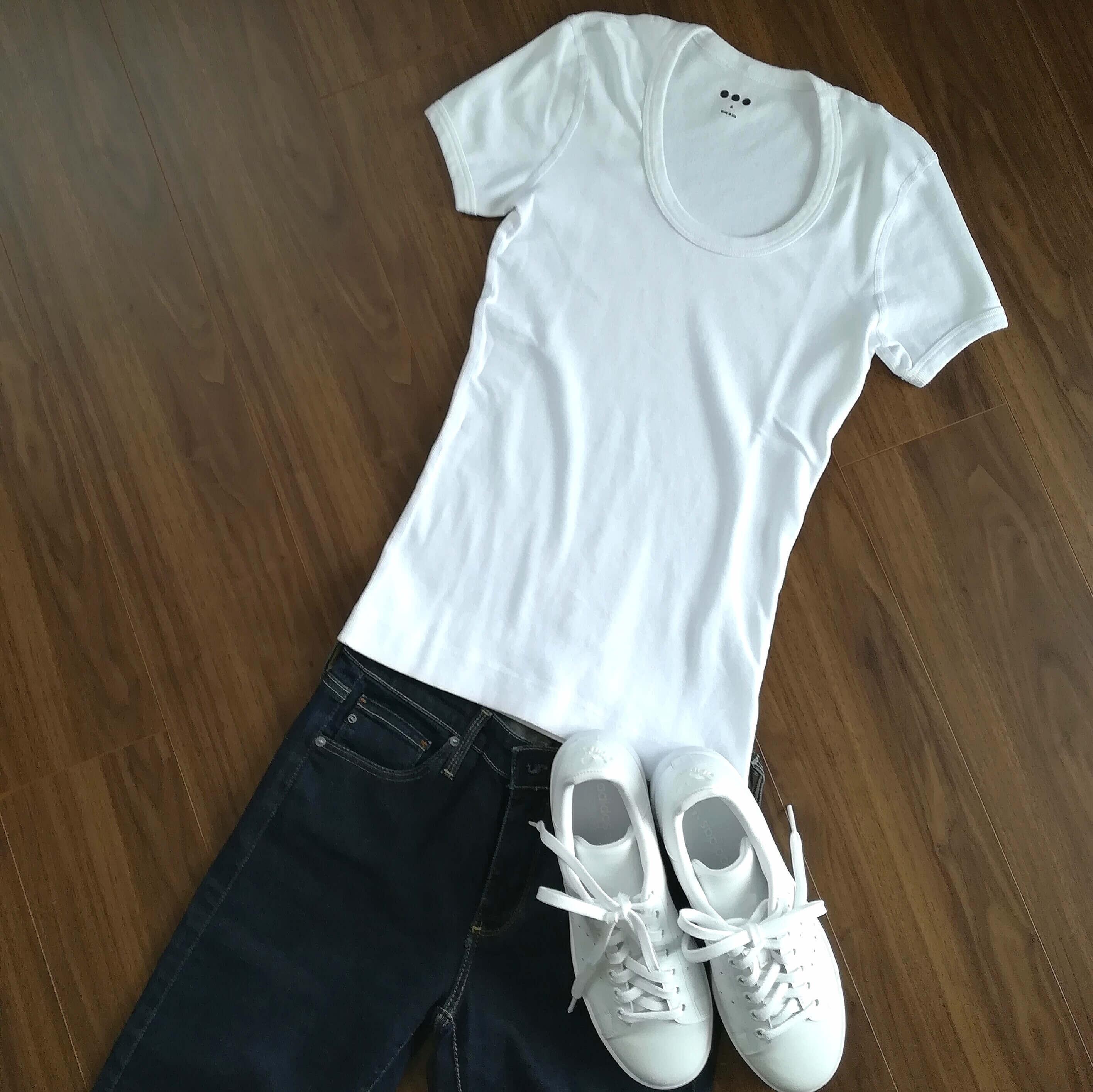 私の白無地Tシャツ決定版はこれ!_1_4-2