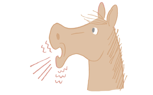 「馬の呼吸」を使う