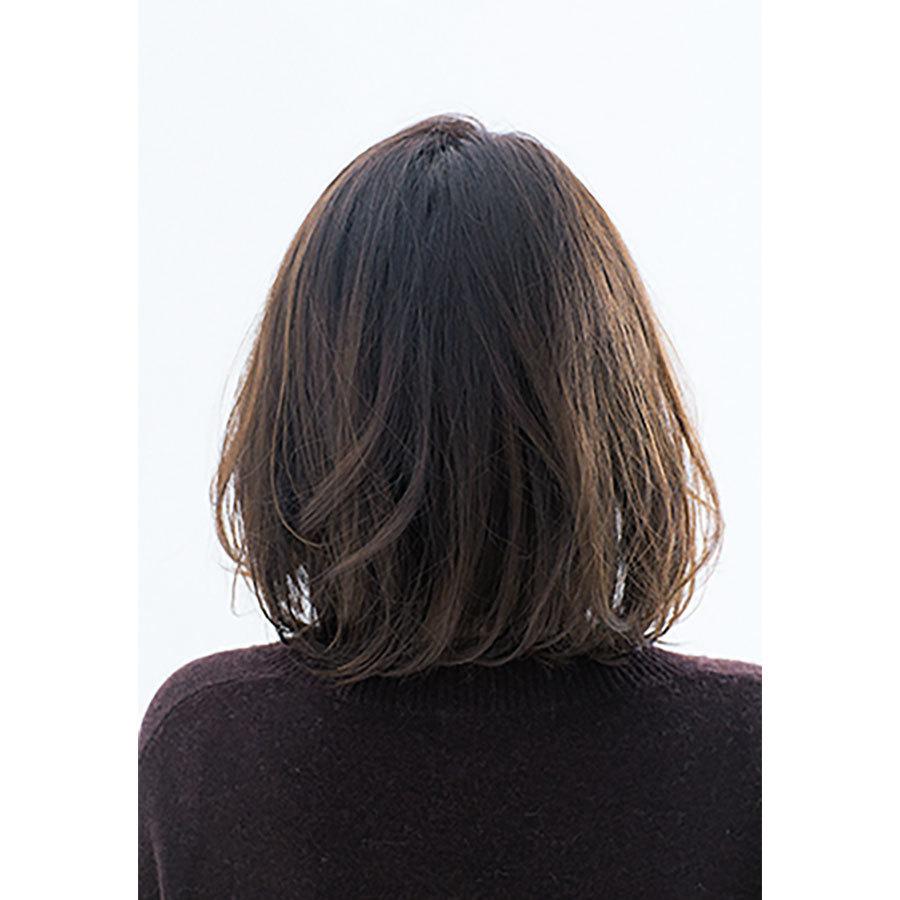 後ろから見た40代に似合う髪型 ヘアスタイル人気ランキング6位