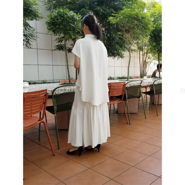 she tokyoのセットアップを着て、友人と二子玉川でランチ♪_1_3