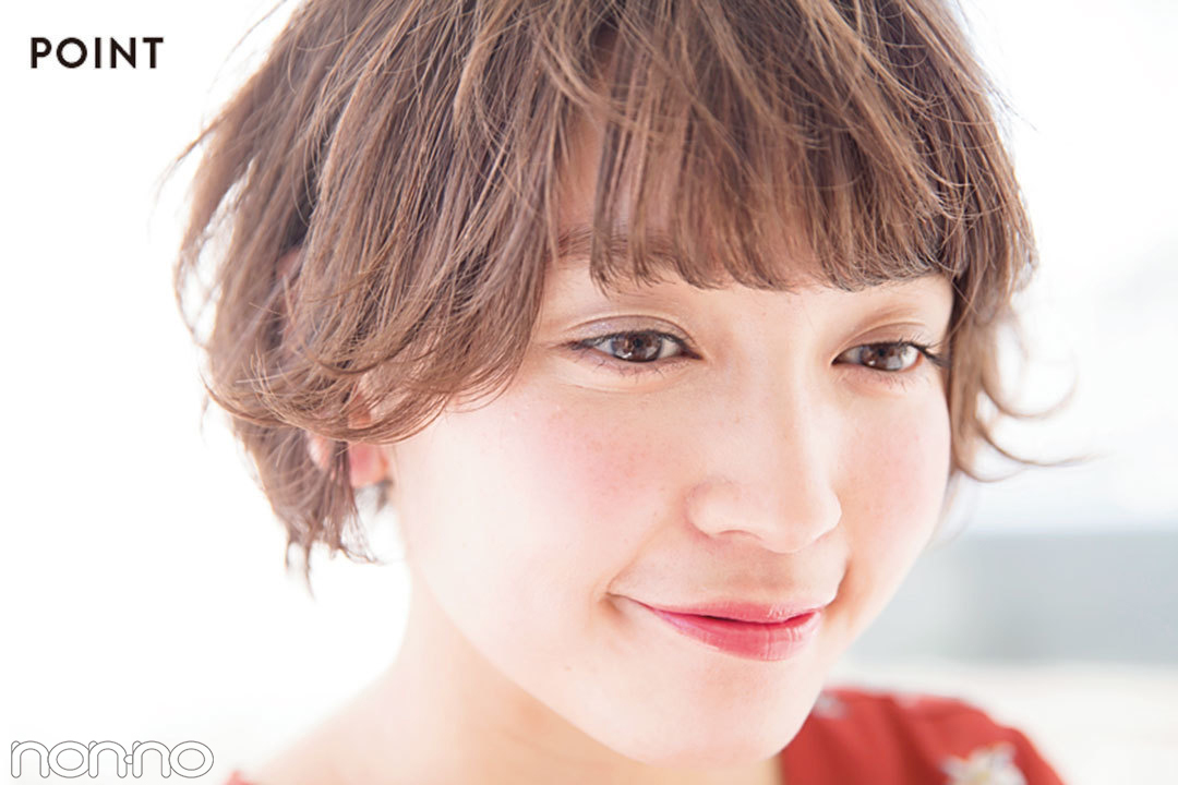 """春映えヘアカタログ★女っぽショートボブは""""うぶ毛パーマ""""で作る!_1_2"""