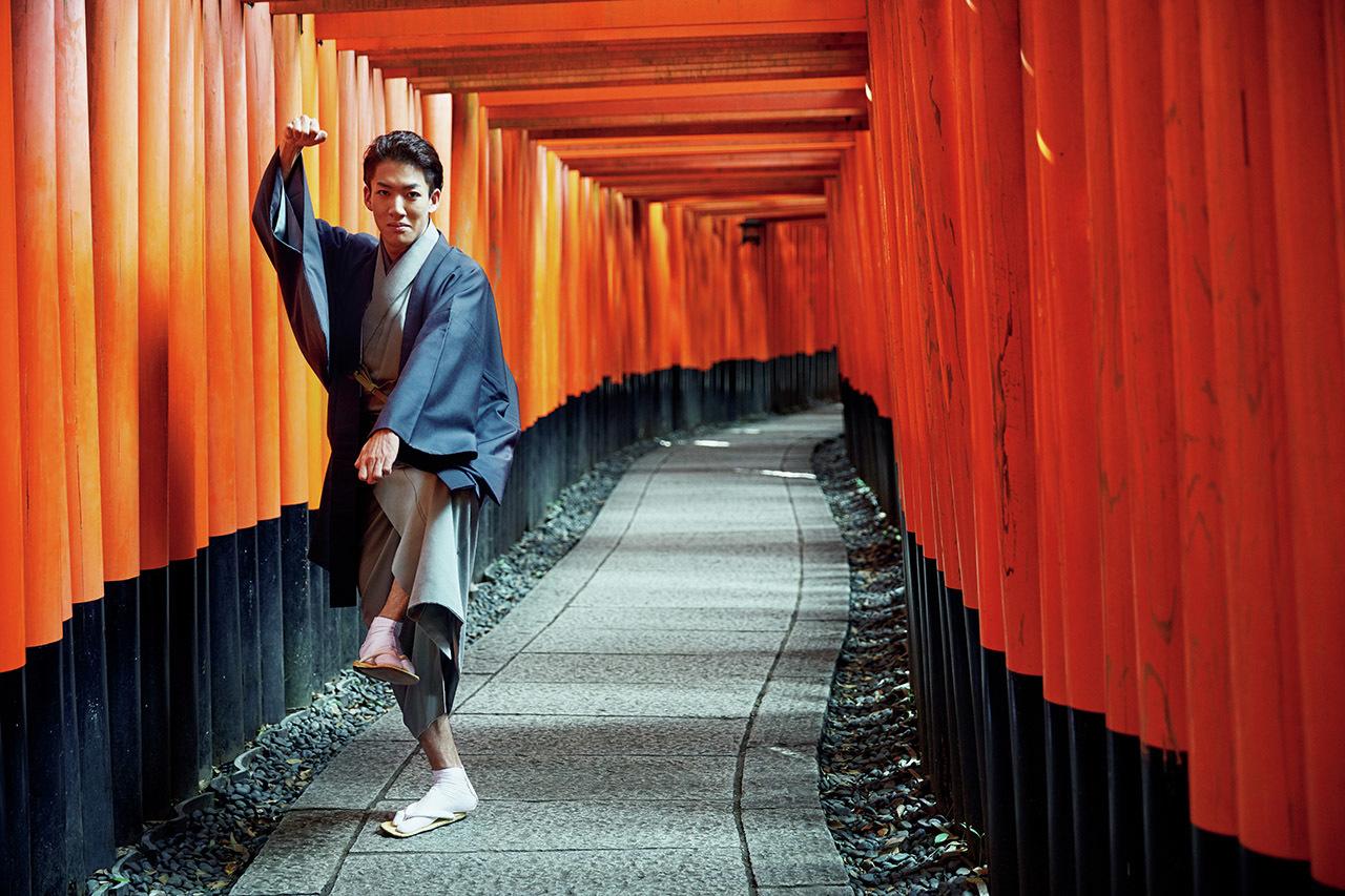 過去と現在が交錯する街。尾上右近さんの「歌舞伎俳優の京都」 五選_1_1