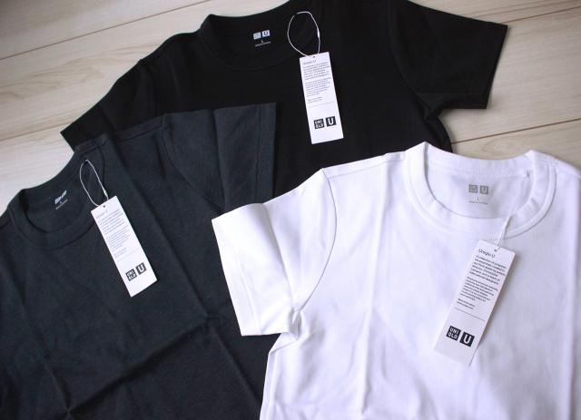 【UNIQLO U】ベーシックカラーのTシャツを新調。_1_2
