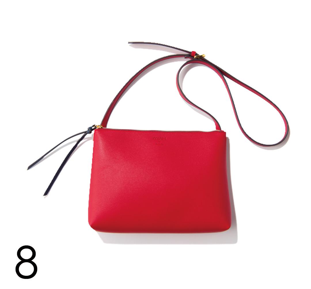 さりげないのに好印象♡ バッグで赤を取り入れる!_1_4-8