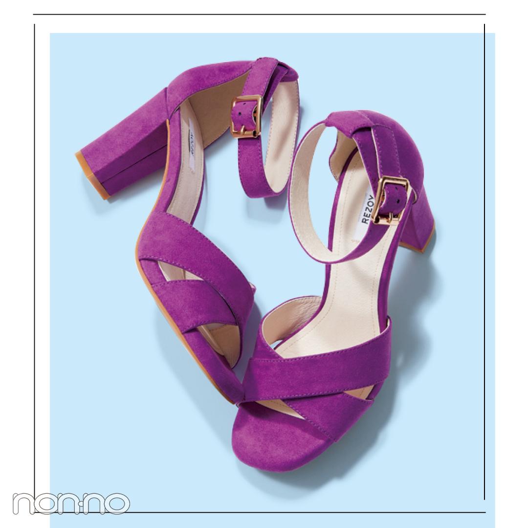サンダル2019★ ヒールストラップ+靴下のミックスコーデで差をつける!_1_2