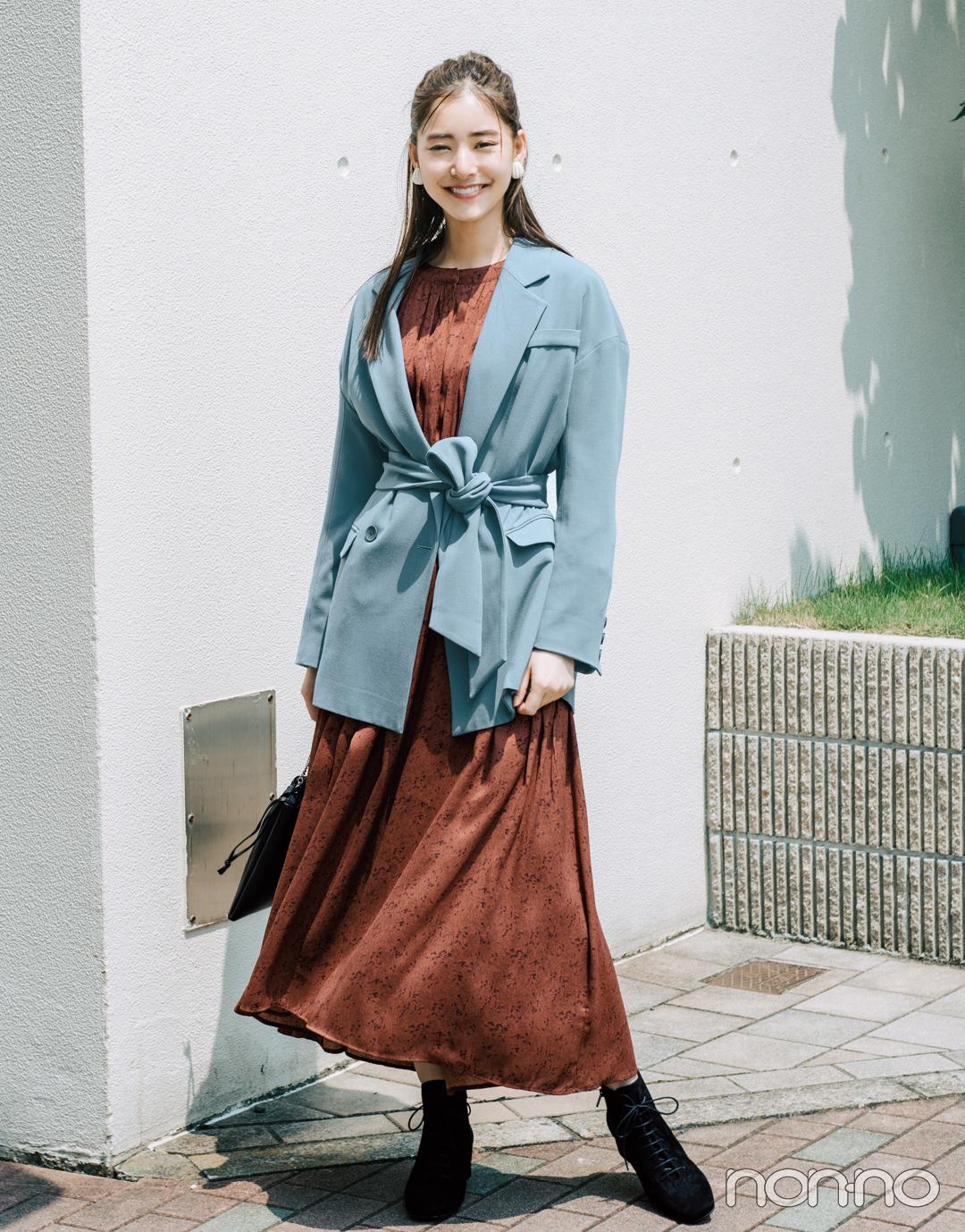 2019秋冬トレンド★ ベルトつきテーラードジャケット3選!_1_2