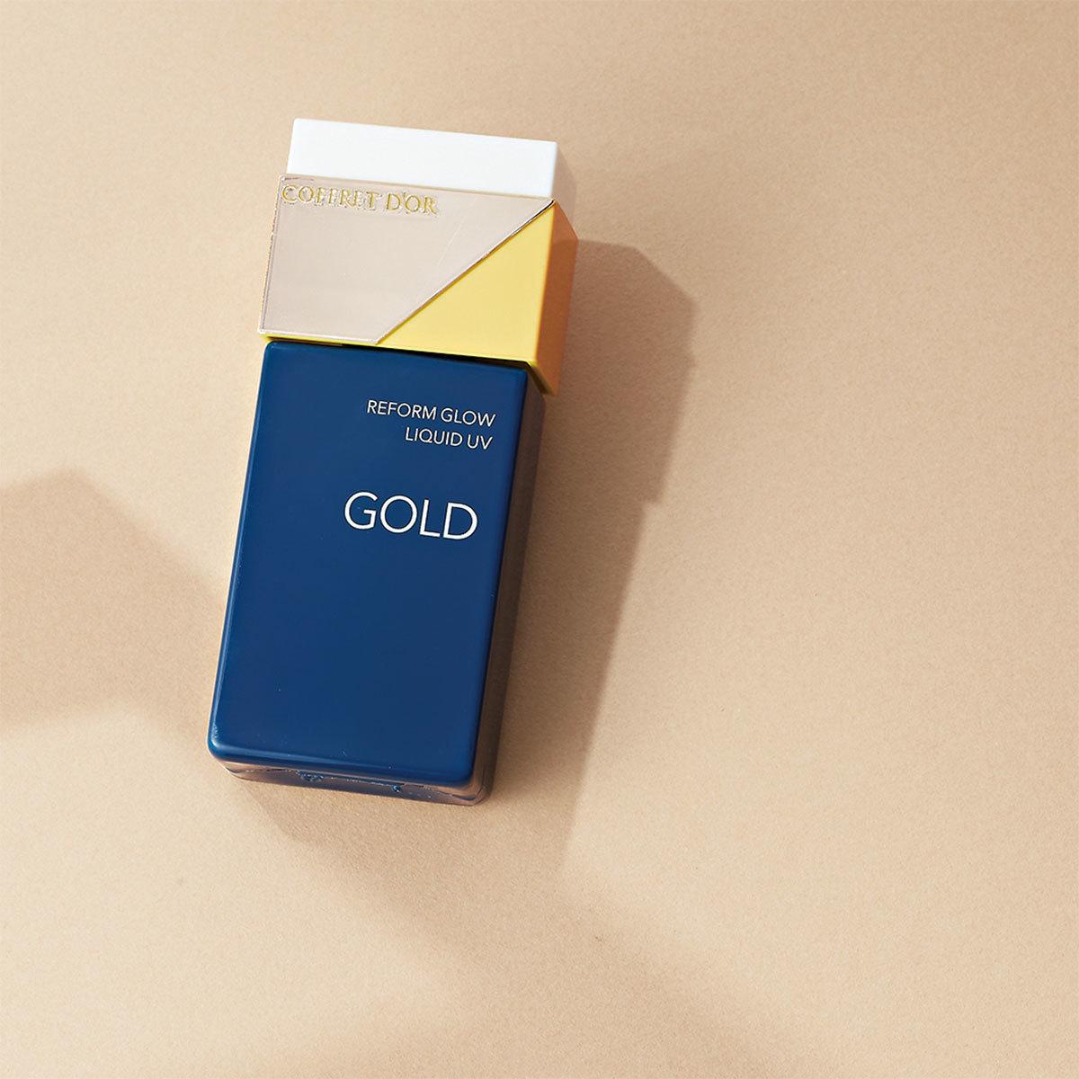 カネボウ化粧品 コフレドール リフォルムグロウ リクイドUV ゴールド