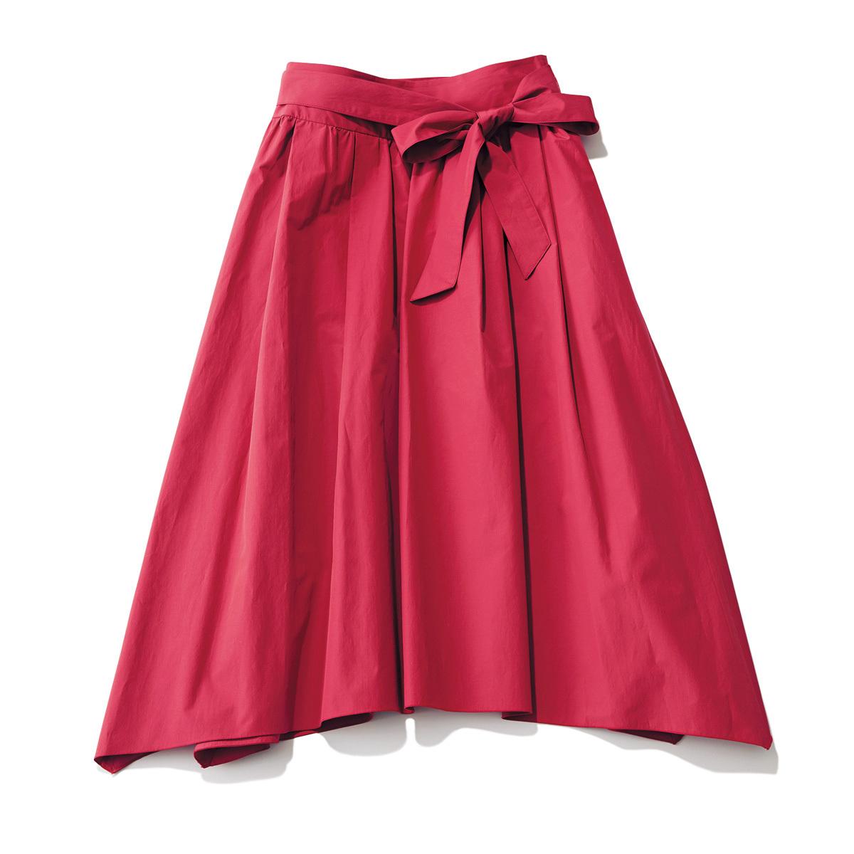 おしゃれプロが買ったキレイ色&モードな白スカート_1_1-2