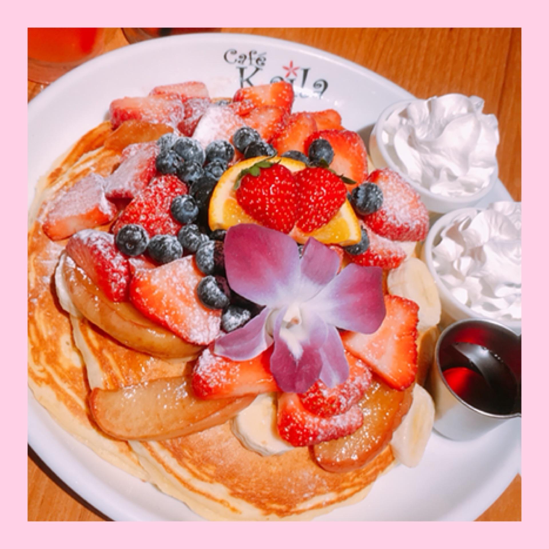 《Kaila Café & Terrace Dining Shibuya》オリジナルパンケーキ♫♡_1_1