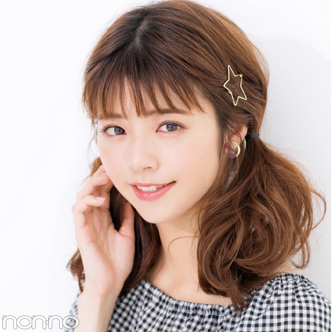 「前髪」と「触角まわり」だけで小顔ヘアアレンジまとめ♡ _1_5-2