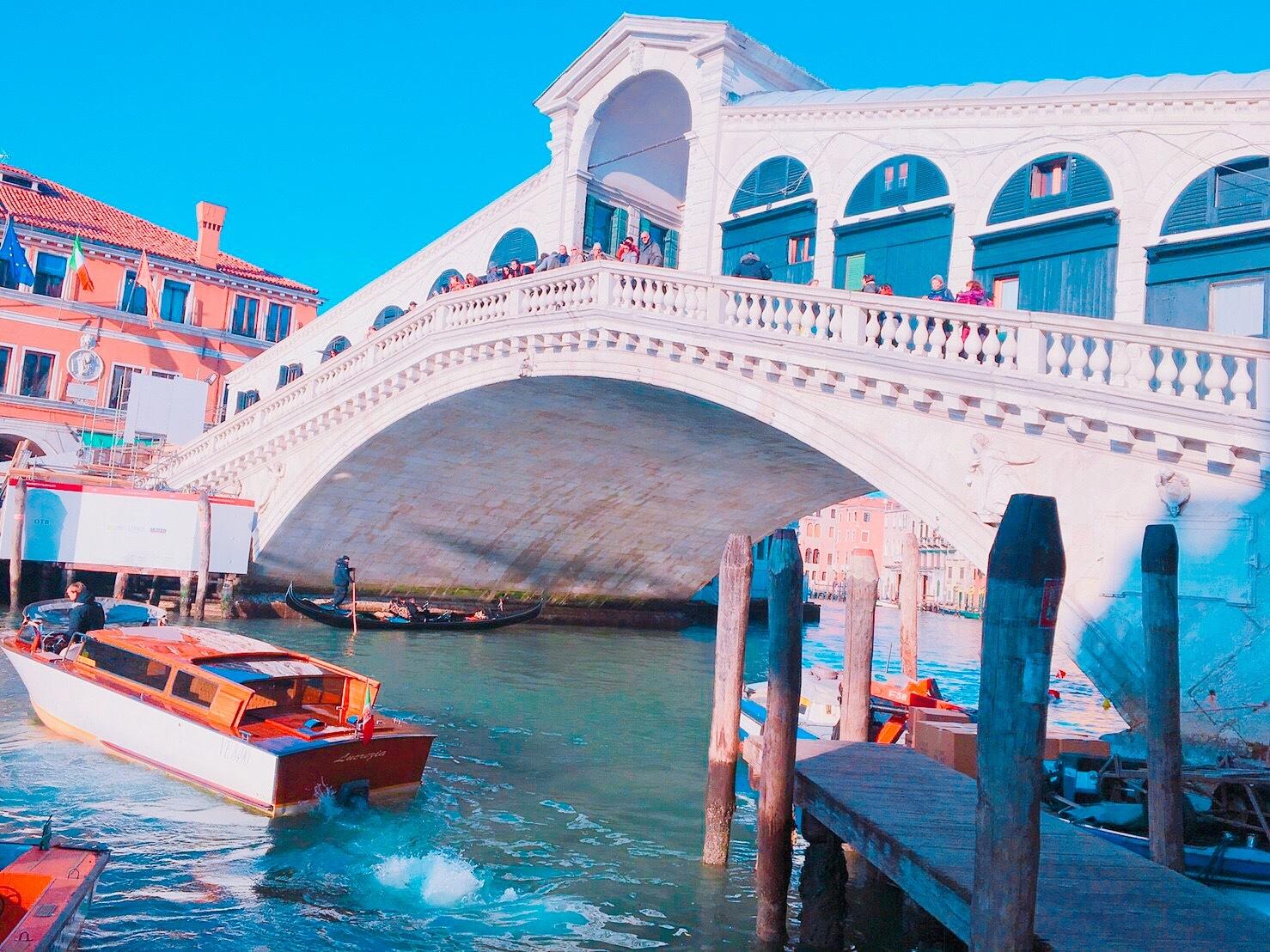 ロマンチックなイタリア旅行 --水の都【ベネチア】を観光--_1_4-2
