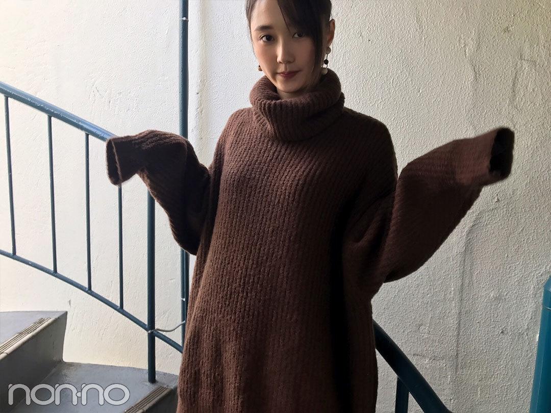 鈴木友菜、冬はDHOLICのプリーツスカートコーデが気分!【モデルの私服】_1_2-1