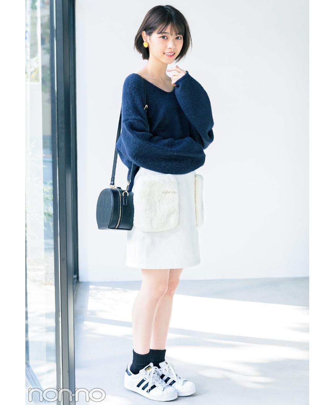 ヘルシーなのにドキッ♡ 西野七瀬のミニスカート×スニーカーコーデ5選_1_1-3