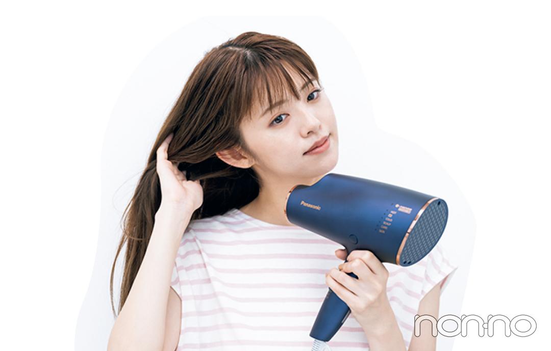 鈴木ゆうかの真夏の髪管理バイブルプロセスカット4-5