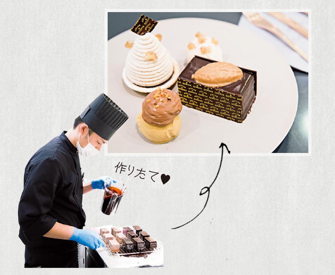 インスタ映えスイーツNo.1⁉ 世界唯一 「ゴディバ」のデセール店【バレンタイン2018】_1_2-3