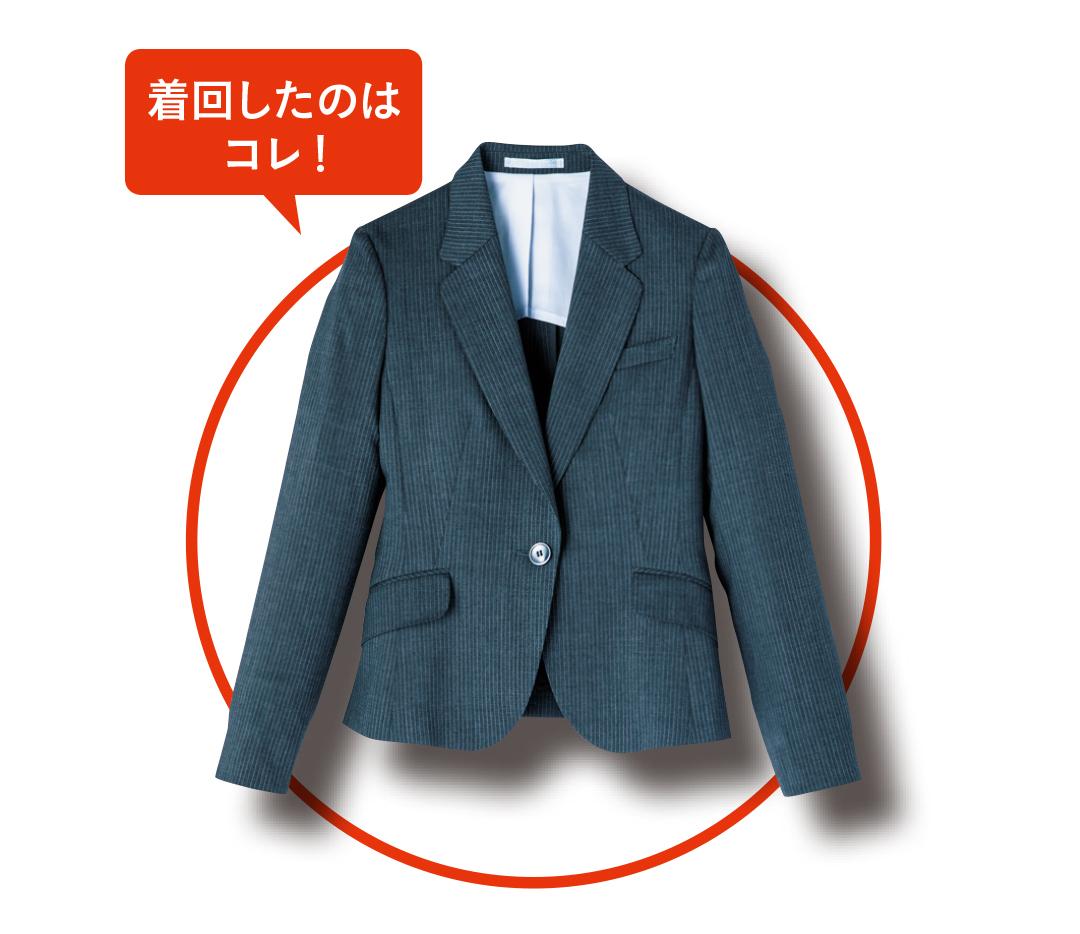 4月のオフィスコーデはコレ★きれいめ派の好感度最高ジャケット着回し5days_1_1