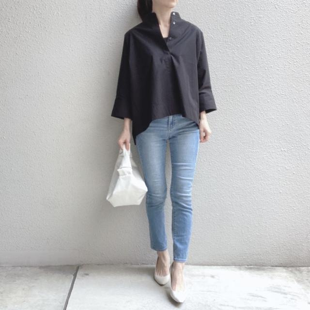 【ユニクロ+J】春夏のおすすめシャツで上下UNIQLOコーデ_1_4-1