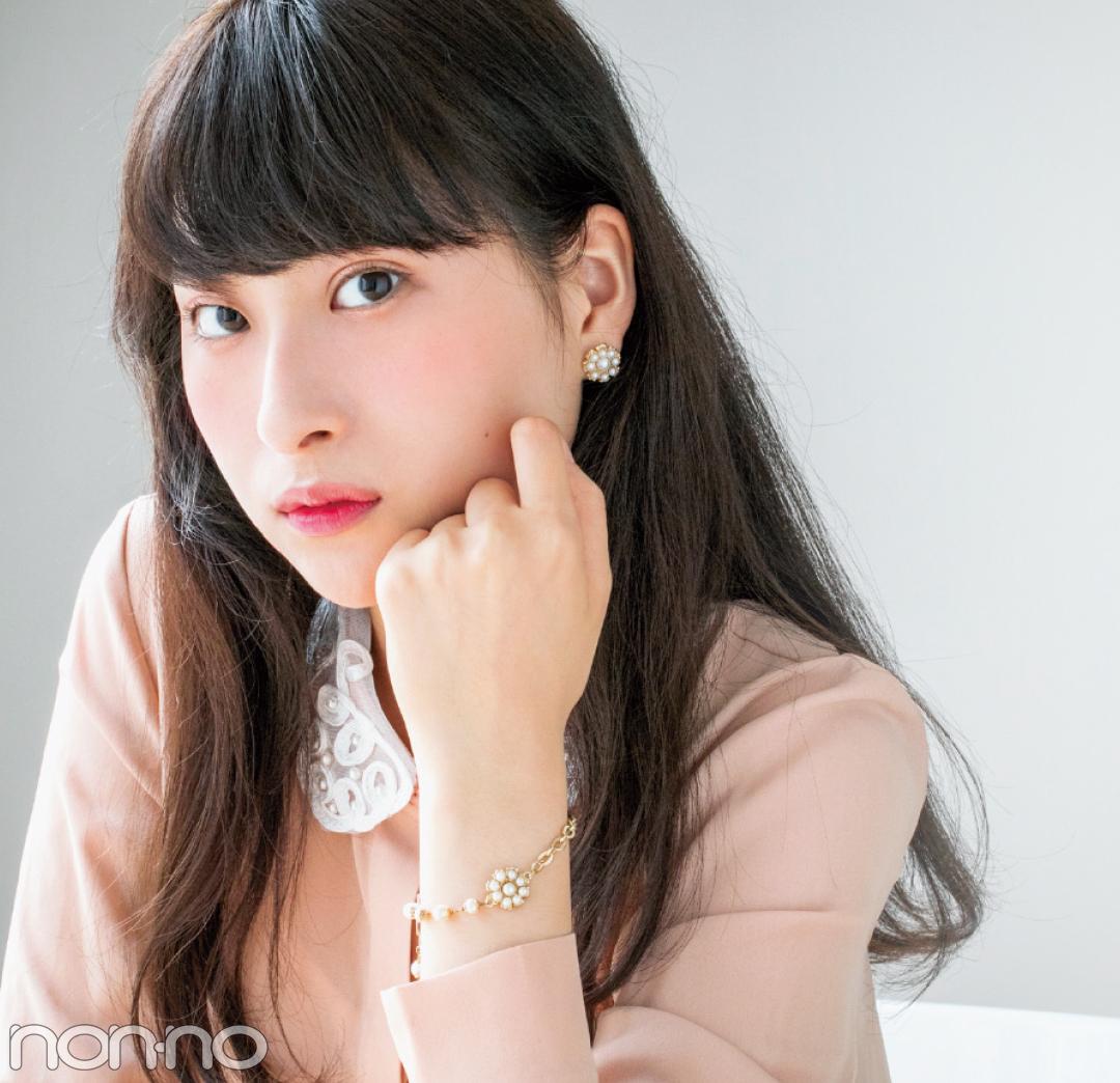 チャンミーのパールピアス&ブレスレット♡ 読モの20歳の記念STORY_1_1