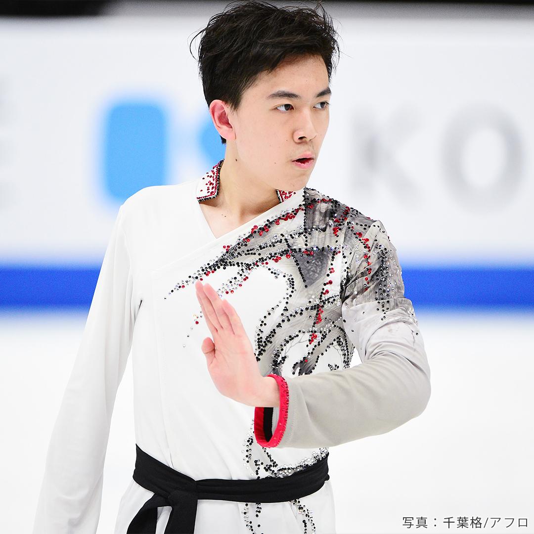 フィギュアスケート男子・アメリカ代表ヴィンセント・ジョウ