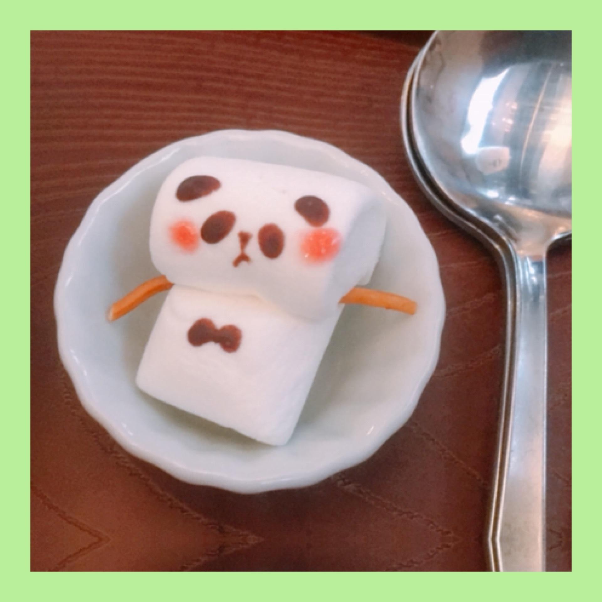 【サカノウエカフェ】メロンパンダ!?かき氷♡♡♡_1_4