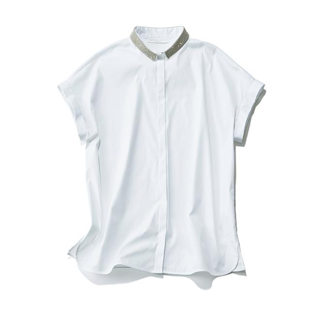 「ファビアナフィリッピ」から、サステイナブルなオーガニックコットンの白シャツコレクション