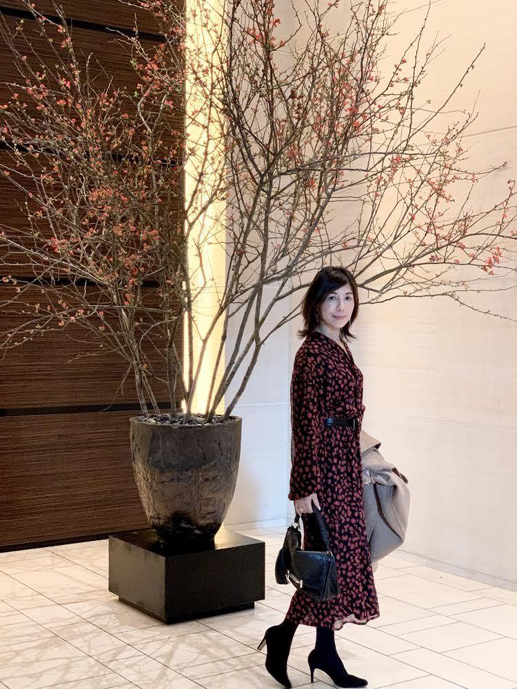 フェミニン服でコンラッド東京へ_1_1-1