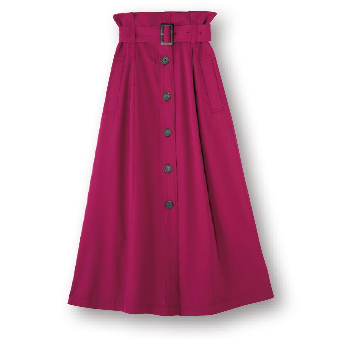 秋カラーのスカートって優秀! 今すぐ買って10月までの着回しコーデで実証★_1_1