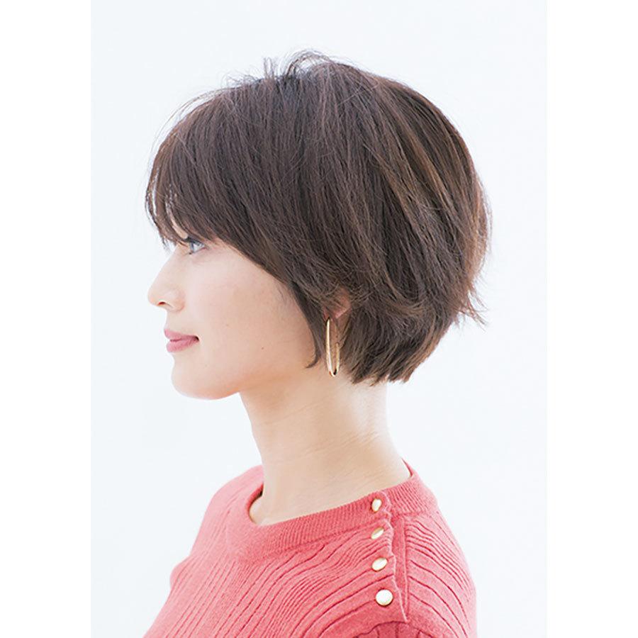 スタイリング前 人気ショートヘアスタイル1位の髪型