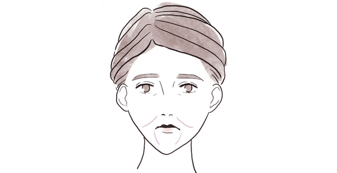 アラフォーの顔の〝たるみ〞2_3