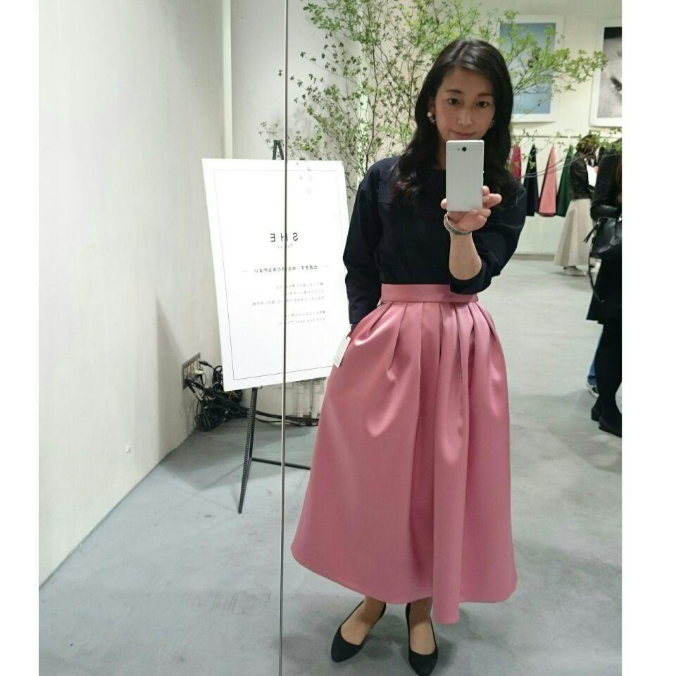 着ていると必ず褒められるスカート『SHE Tokyo』の2017AW新作展示会へ!_1_3