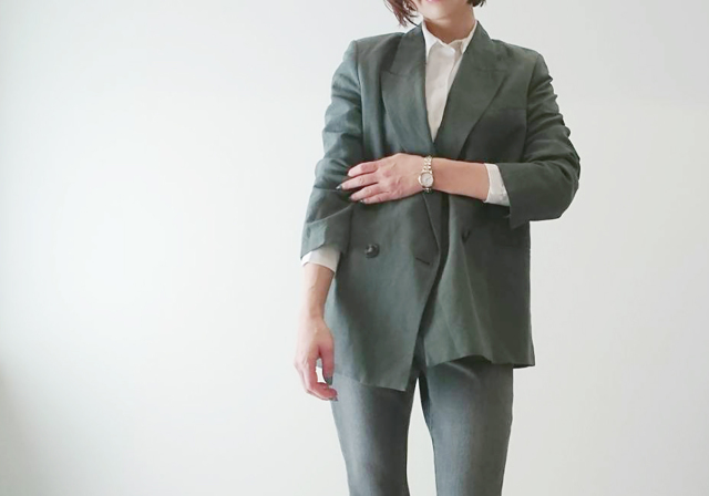 #ZARA のジャケットで春の大人ニュアンスカラーコーデ♡_1_1