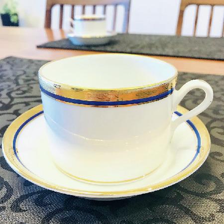 新婚生活のため夫とローマで買ったジノリのカップ&ソーサー