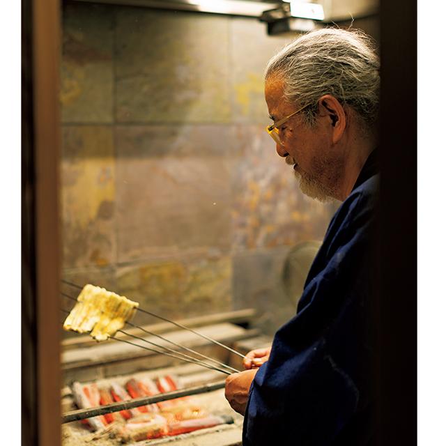 京都烏丸にある鰻屋「大國屋鰻兵衛」の店主山岡さん