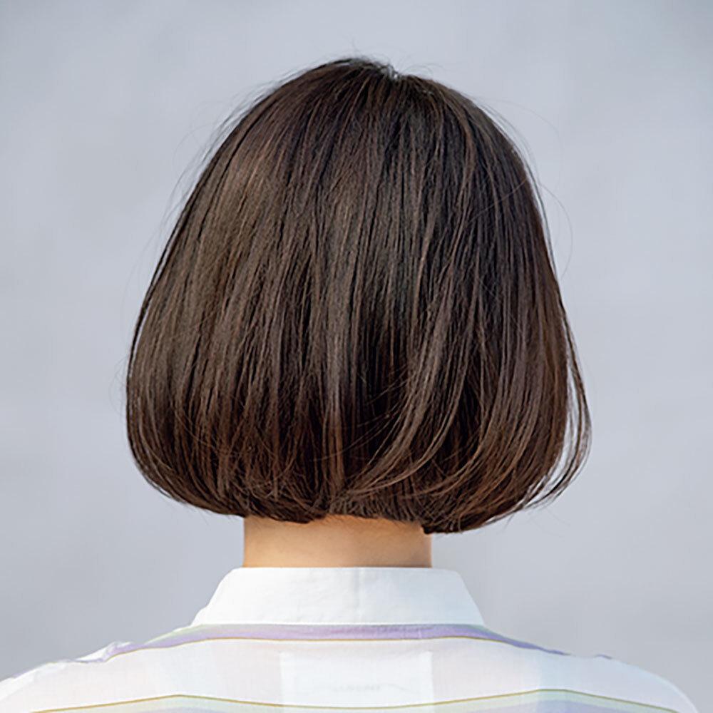 後ろから見た40代に似合う髪型ヘアスタイル人気ランキング1位
