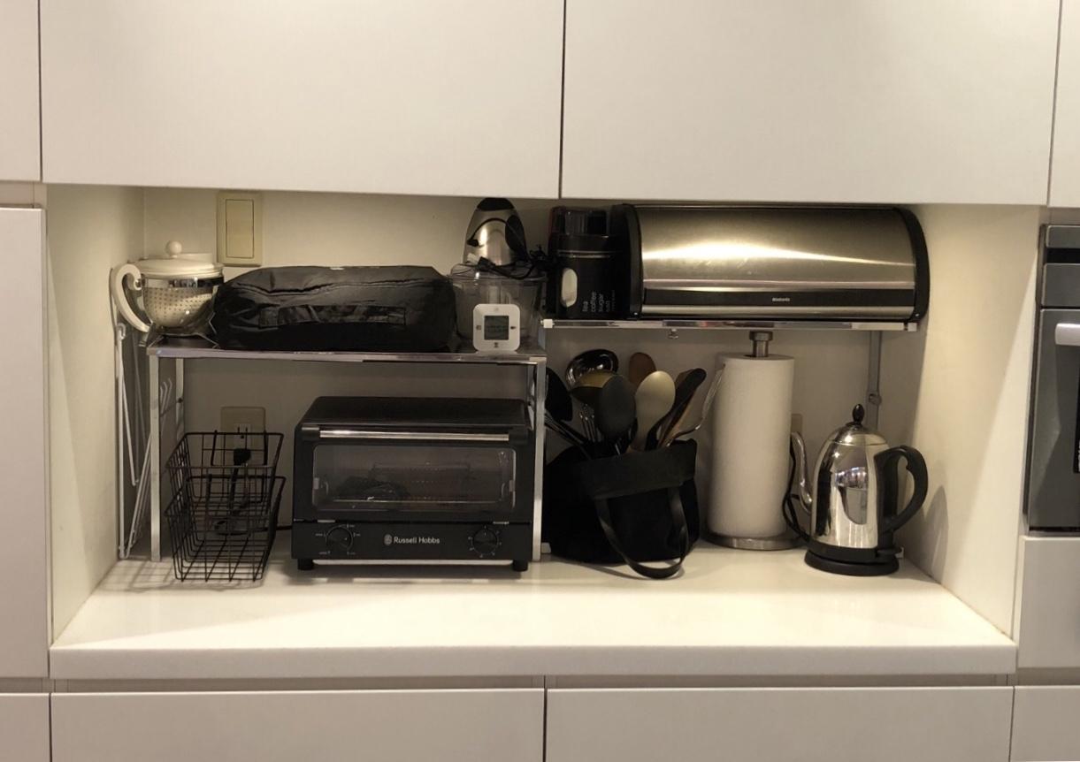 ガーメントバッグでキッチンカウンターがスッキリ♪_1_7