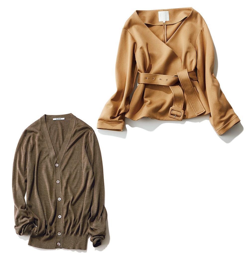 秋ファッション カーディガン ジャケット