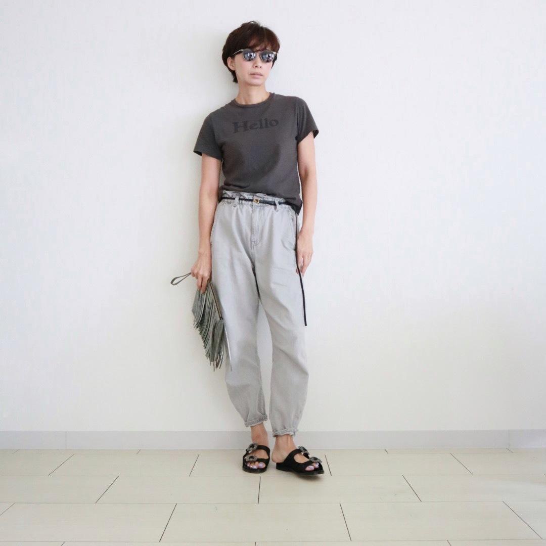 """マディソンブルーの""""Hello""""Tシャツ_1_4"""